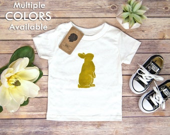 Easter Toddler Shirt, Easter Bunny Toddler Shirt, Rabbit, Easter, Bunny, Easter Bunny, Linocut, Toddler Boy, Toddler Girl, Gender Neutral