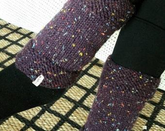 Leg Warmers // Yoga Leg Warmers // Leg Warmers Knitting