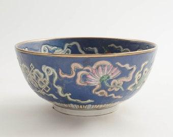 Floral Macau Bowl