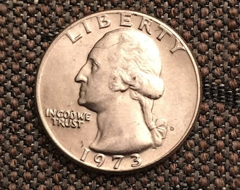 1973 Washington Quarter
