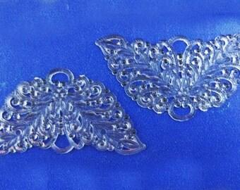 100 Vintage Clear Hard Plastic Angel, Butterfly or Fairy Wings - BARGAIN - Buy 75 - Get 25 Free