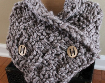 Sammy Cable Knit Loop Scarf