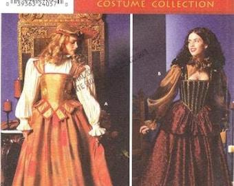 Simplicity 9256 Misses' Elizabethan Costume Pattern, 6-12