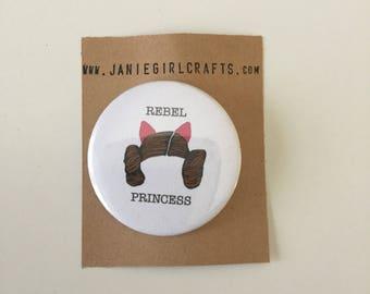 """Rebel Princess 2"""" Pin"""