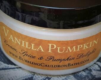 Vanilla Pumpkin Body Cream - Pumpkin Vanilla Lotion - Vanilla Pumpkin Bewitching Cream - Vanilla Pumpkin Spice Body Cream