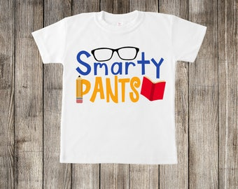 Smarty Pants Little Kids T-shirt or Baby Onesie