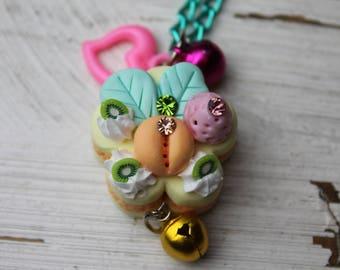 Cake Necklace-Flower shape