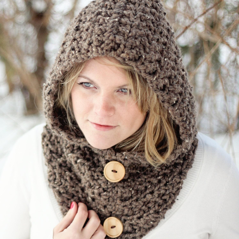 HOODIE häkeln Muster Cowl Hood einfach die Toronto