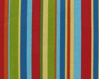 Jungle Babies Striped Fabric - 100% Cotton Quilting Apparel Crafts Baby Home decor