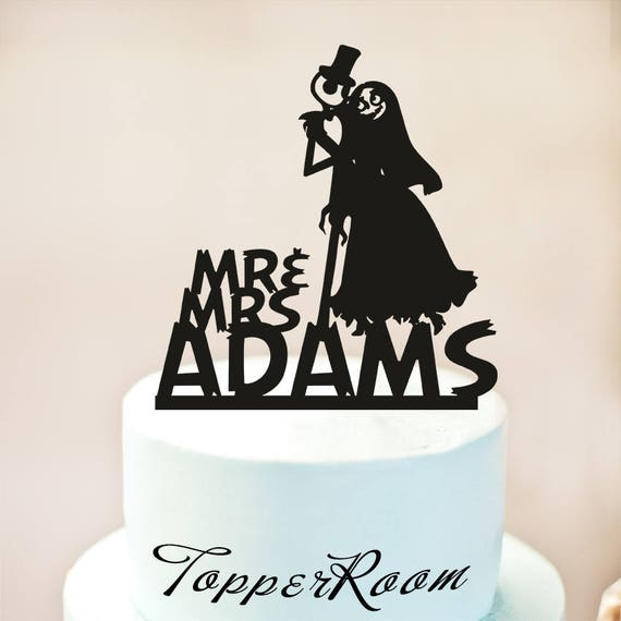 Wedding Cake Topperjack and sally cake topperSimply meant to