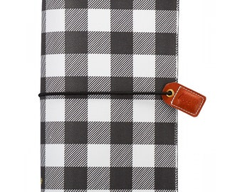 Webster's Pages Buffalo Plaid Travelers Notebook