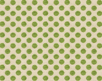 KRAVET LEE JOFA Kate Spade Dots Fabric 10 Yards Picnic Green