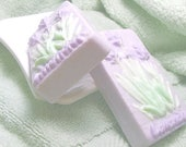 Lavender soap, decorative soap bar, scented gift soap, a vegan soap and natural soap bar