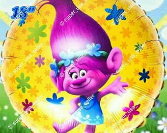 Trolls Birthday Balloons party decorations supplies