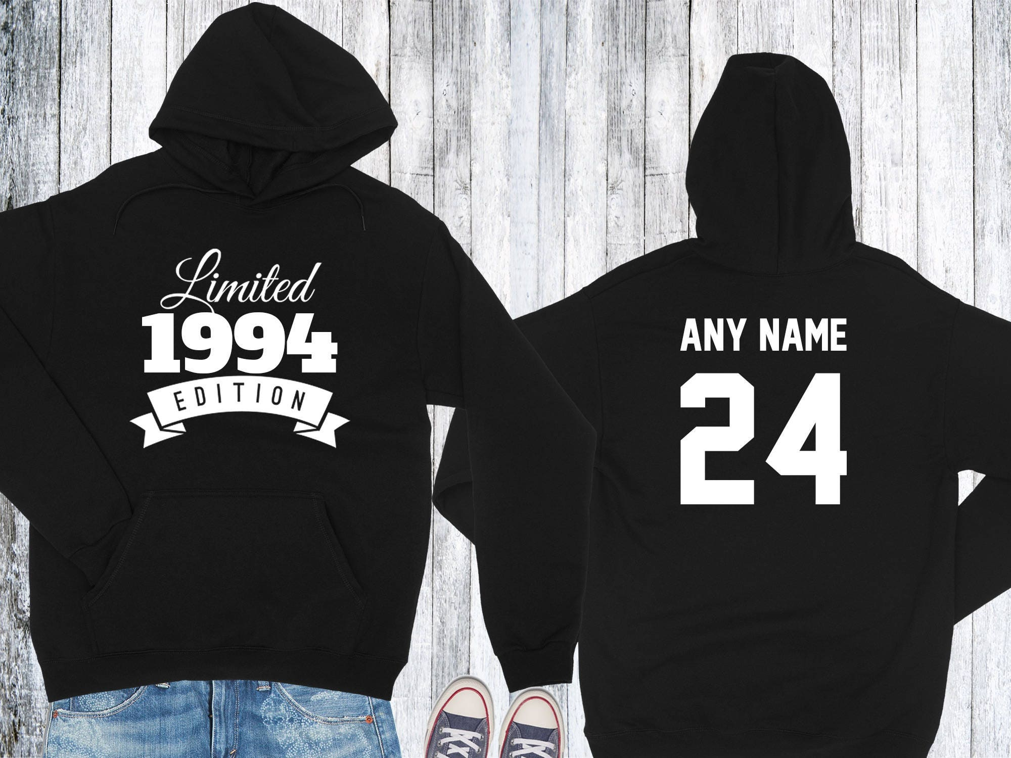1994 Birthday Hoodie 24 Year Old Limited Edition