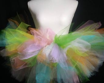 Easter or Spring Tutu and Hair Bow (optional)