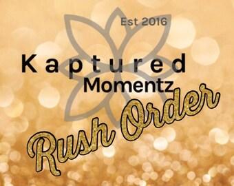 Rush any order (same day shipping)