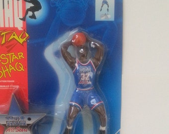Kenner, 1993, Shaq Attaq, All Star Shaq, NBA All Stars, Action Figure, Shaquille Oneal, Tonka Corporation, Number 61204, NBA Action Figure