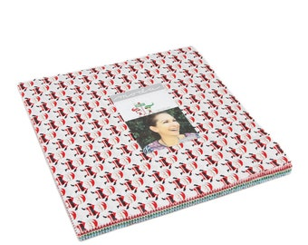 """Moda Layer Cake The North Pole 42 pre-cut 10"""" squares of Christmas Fabric"""
