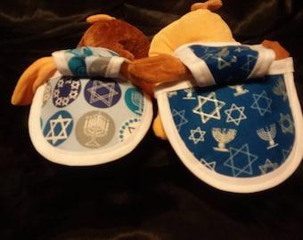 Hanukkah Large Dog Hats