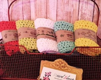 Springtime Dishcloth/Washcloth Labels - PDF FILE ONLY