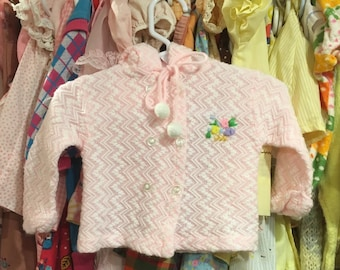 70s Baby Sweater 6/9 Months