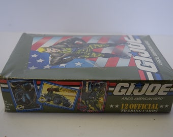 New In Box- 12 Official G.I. Joe Trading Cards