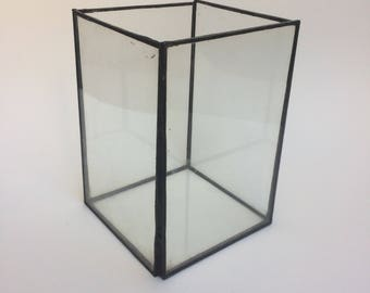Geometric terrarium/terrarium rectangle/terrarium/glass planter/glass florarium/hanging terrarium/terrarium geometric/succulent planter