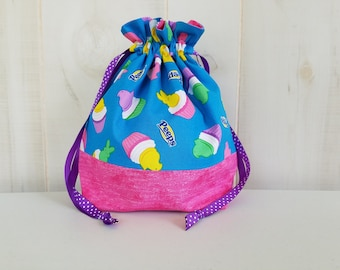 Sock Project Bag: Peeps