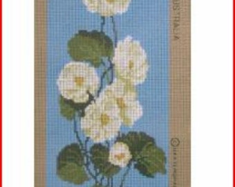 Floral Needlepoint Canvas: Buttercups New