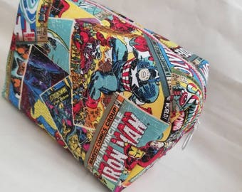 Marvel Cosmetic Toiletry  Zipper Bag, Pouch