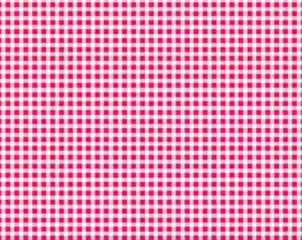 Red Gingham - Pam Kitty Gingham 1/8 check - Lakehouse Dry Goods LH11023 - cotton quilting - HALF YARD cut