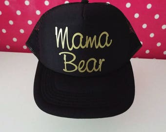 Mama Bear Trucker Hat. Mama Bear Hat. Mama Hat. Momlife. Baby Shower Gift. Mom To Be. New Mom Gift. Maternity Gift. Pregnancy Gift.