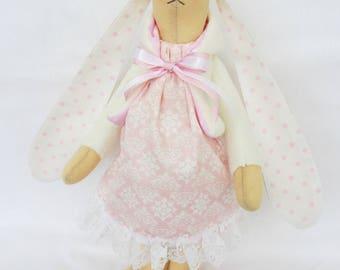 Bunny Toy - Stuffed Bunny - Bunny Rabbit - Stuffed Animal - Easter Bunny - Stuffed Bunny Animal - Rabbit Toy - Stuffed Bunny Toy - Pink