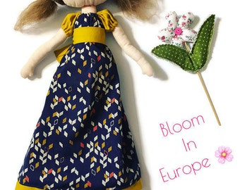 Bloom in Europe - Art Doll