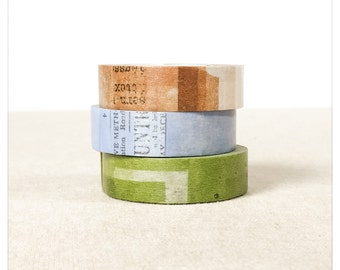 Collage Washi Tape 3pk - Classiky