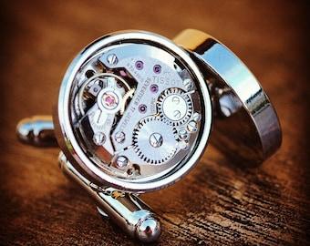 Tissot Watch Movement Cufflinks