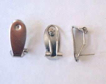 12 (6 pair) Fingernail Posts - Stainless Steel
