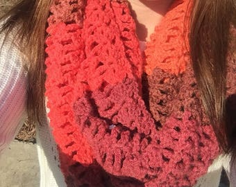 Lacy Infinity Scarf