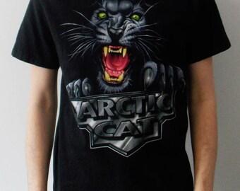 vintage 90s Arctic Cat black t shirt men's medium