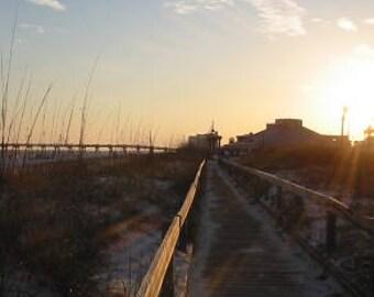 Walkway on Pensacola Beach