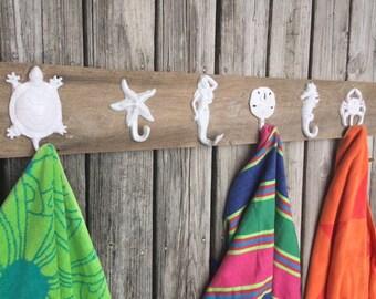 3 5 hook outdoor towel racks outside shower swimming pool house hot tub