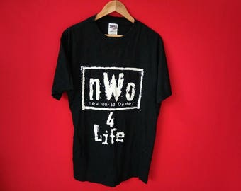 vintage New world order large mens t shirt