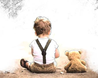 Child and Bear Film