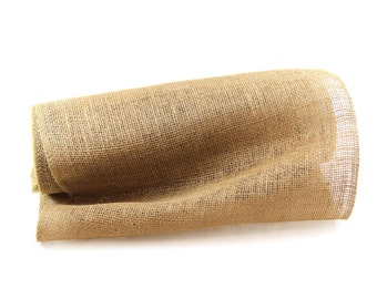 """SALE: 14"""" x10 Yards Burlap Jute Garland Ribbon for Table Runner, Christmas Decorations, Rustic Wedding Decor, Craft Projects"""