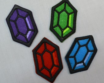 Rupee - Sew-On Patches
