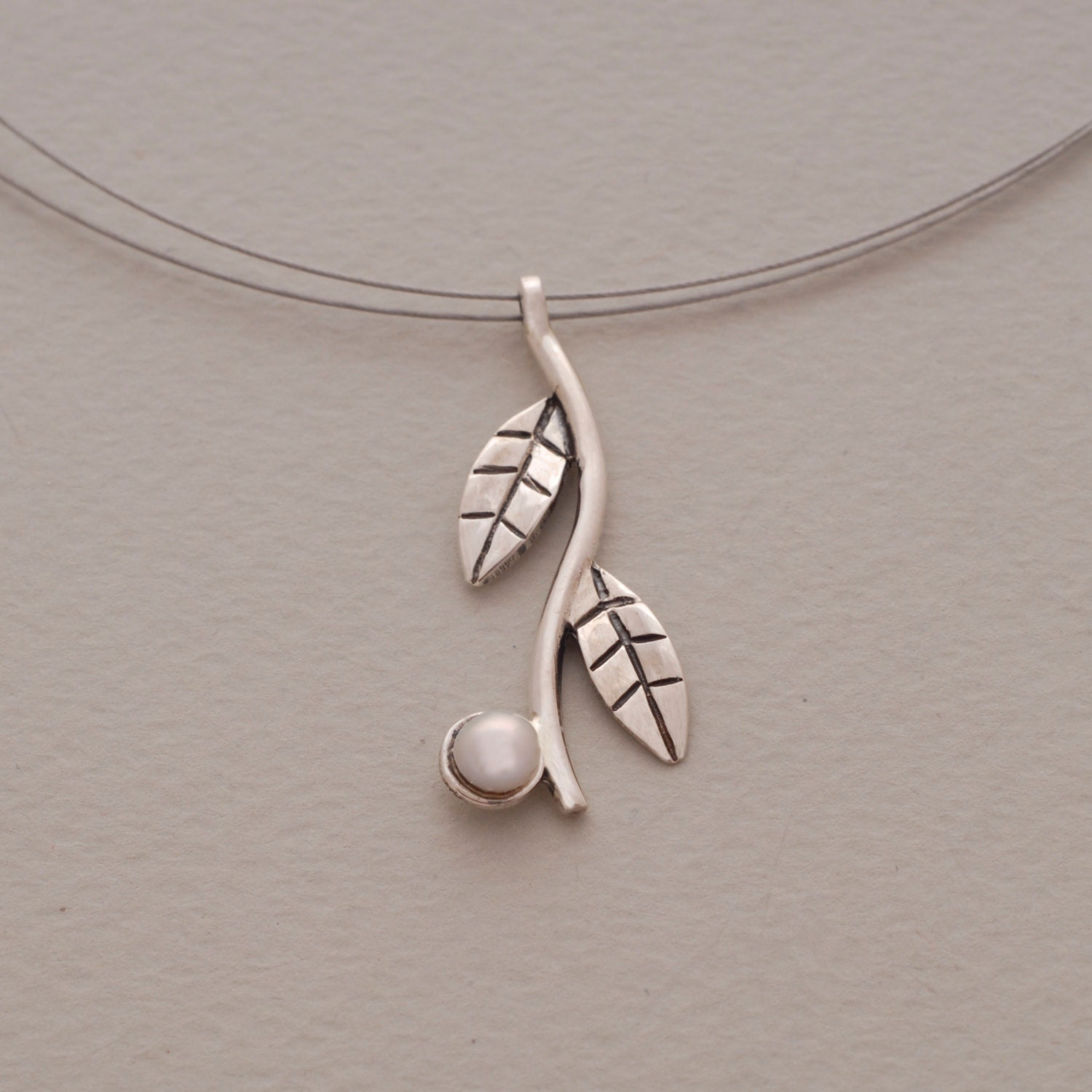 branch olive necklaces necklace silver sterling