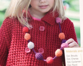 Children's Fashion Bobble Necklace - Crochet Pattern