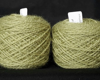 Goldenrod dipped in iron water naturally dyed Shetland wool, ideal for Fairisle knitting and other colour work. Available in 25g balls.
