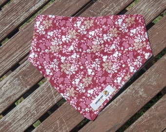 Cherry Blossoms double sided cotton bandana